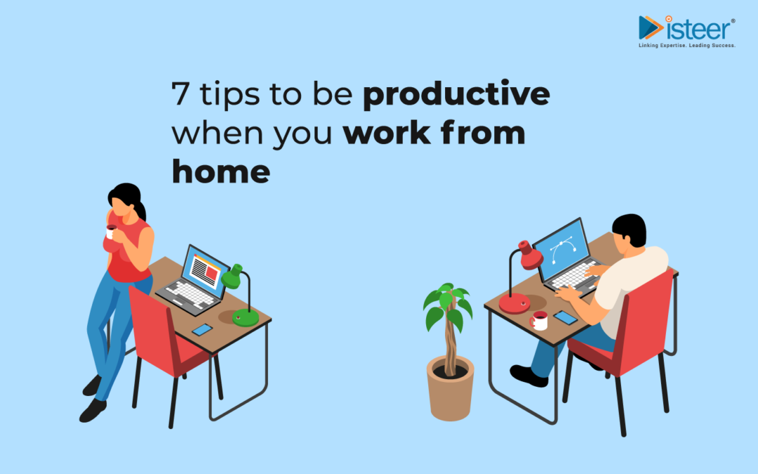 7 ways to stay productive while working from home (WFH)