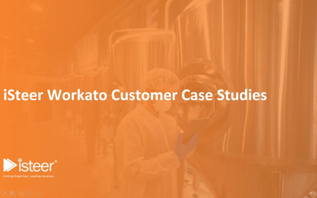 iSteer Workato Customer Case Studies